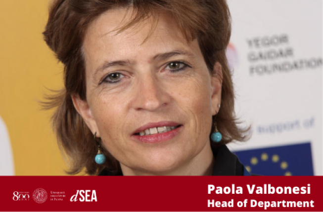 Collegamento a Paola Valbonesi is the new Head of Department