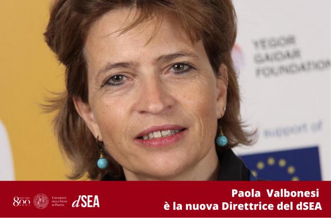 Collegamento a Paola Valbonesi è la nuova Direttrice del dSEA